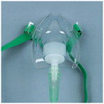 Infant Oxygen Mask, Medium Concentration, 7 Foot Tubing