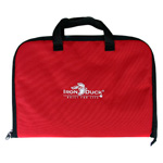 Laryngoscope Bag, 14inch L x 15inch W x 10inch H, Red