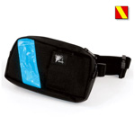 EMS-2 WaistPak Fanny Pack, Red w/Yellow Reflective Stripe