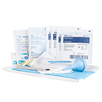 Curaplex OB Kit with Umbilical Clamps and Scalpel