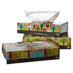 Facial Tissue, 2-Ply, Recycled, 8inch x 8.3inch, 90 sheets per box.