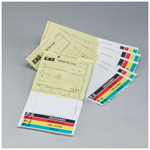 Triage Tags, Disaster, Two Portion, Carbon Copies, with Ties