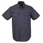 5.11 Men A-Class Station Shirt, Short Sleeve, Navy, SM