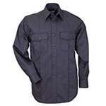 5.11 Men A-Class Station Shirt, Long Sleeve, Fire Navy, LG