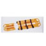 EXL Scoop Stretcher, Yellow, w/Restraints, No Pins