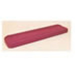 Bolster Cot Mattress, Model 460, Burgundy