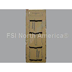Dispos-A-Board Backboard, Adult, Cardboard, Easy Grip Straps, w/o Head Immobilizer*Discontinued*