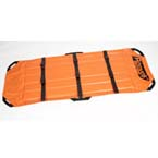 Reeves Flexible Stretcher, Lt Weight, 79inch x 28inch, Orange