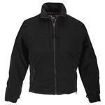 5.11 Men Tactical Fleece Jackets, Black, XS