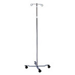 Curaplex IV Pole, w/Wheels
