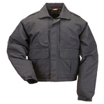 5.11 Men Double Duty Jacket, Black, SM
