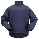 5.11 Men Chameleon Softshell Jacket, Dark Navy, LG