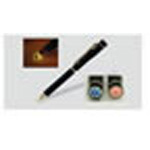 Nite-Writer Pen, LED Light, Pocket Clip, 5/8inch D x 5? inch L, Black, w/Velvet Case, FIRE Logo