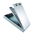 Cruiser Mate II Clipboard, Recycled Aluminum, Antimicrobial, Legal size