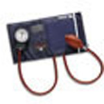 Precision Aneroid Sphygmomanometer with Cuff and Bladder, Blue, Thigh