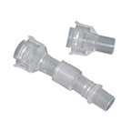 PEEP-Keep Dual-Axis Swivel Adapter, Non-Sterile, Angled 15mm Termination