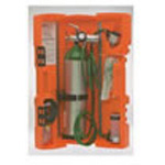 LSP Portable Inhalator, incl Regulator, Adult Disp Mask, Wrench, Orange Plastic Case
