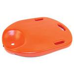 CPR Board, 23-1/4inch x 17 1/4inch x 2inch Thick, Orange