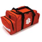 Medsource Attack Bag, w/First Responder EMS Content, Orange