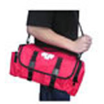 First Responder Cab Bag, Cordura, 13inch x 9inch x 6inch, Red