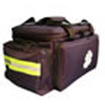 Trauma Bag, Large, Movable Dividers, Main Body 11 x 12 x 16inch, Pockets 4 x 8 x 10inch, Navy