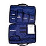 Curaplex Medic 3, BP Unit Kit, Gauge, w/3 Nylon Cuffs, Adult, Child, LG Adult, Blue