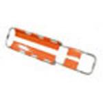 Scoop Stretcher, Aluminum, 3 Patient Restraint Straps, 67 - 80 1/2inch L x 17inch W, 19 lbs