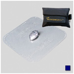 CPR Microkey CPR Barrier, Protective Device Carried on Keychain, Navy