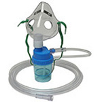 O2 Nebulizer, LSP, Pediatric, Mask, 7-ft Tubing