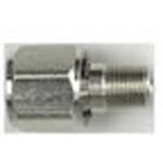 Oxygen Adapter, DISS Female Hex Nut x 1in Stem, 1/8 NPT Male