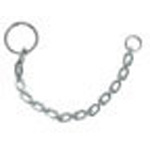 Security Chain, w/Closed Ring, 6inch L