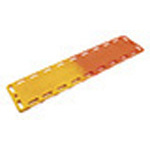 Backboard, Rediwide, without Pins, Red, 18 x 72 x 1.75inch