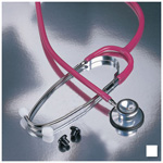 Proscope 670 Stethoscope, Dual Head, White
