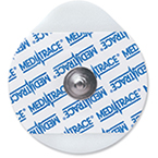 Medi-Trace 133 Electrodes, Foam, Pediatric, 1 3/16inch Tear Drop, 3/pk
