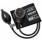 Diagnostix 720 Aneroid Sphygmomanometer, SM Adult Size 10, Black