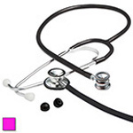 Proscope 675 Stethoscope, Dual Head, Infant, Neon Pink