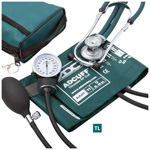 Pros Combo II S.R. Kit, incl Prosphyg 768 BP Unit and Sprague Scope, Case, Adult, Teal