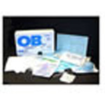 OB Kit, Cardboard Box, incl Gloves, Scalpel, Underpad, Sponges, Slamps, OB Pad, Towels, Apron