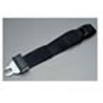 Extension Strap, Auto Metal Female on 1 End and Auto Metal Male on the Other End, 1 foot, Black