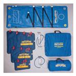 Evac-U-Splint Carry Case, Duffel Style, Holds Three Splints (S-LG) and Compact Manual Vacuum Pump