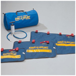 Evac-U-Splint Extremity Splint Kit, incl Small, Med, Lg Splints, Pump, Carrying Case