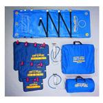 Evac-U-Splint Complete System, incl Splints, Mattress, Handles, Case, 2 Pumps