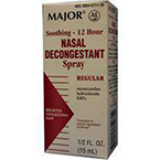 12 Hr. Nasal Decongestant Spray / Afrin, 0.05mg, 15ml