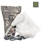 Curaplex Suction Easy Kit, In Olive Drab Nylon Case