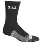 5.11 Men Level 1 6inch Socks, Pair, Black, 6inch