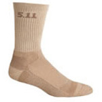 5.11 Men Level 1 6inch Socks, Pair, Coyote, 6inch