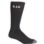 5.11 Socks, 9inch, Black, 3-pack