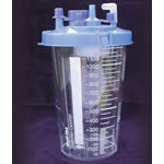 Suction Canister, Disposable, 1200ml