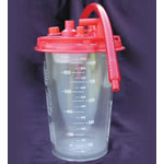 Suction Canister, Reusable, 1000ml