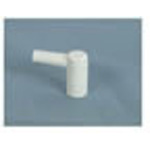 Replacement Suction Elbow, White, 1200cc